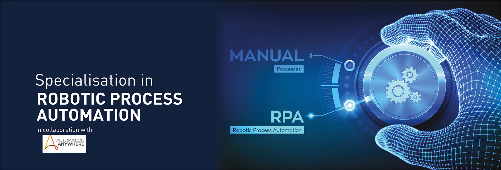 Specialisation In Robotic Process Automation