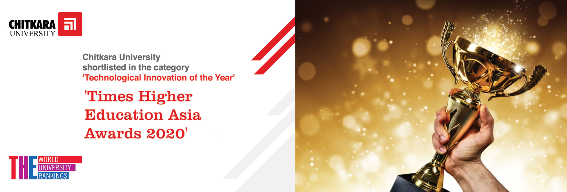 Technological Innovation of the Year of Times Higher Education Asia Awards 2020